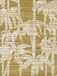 Astek Trop19whitetan Grasscloth Wallpaper