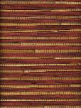 Astek Trop31nutmeg Grasscloth Wallpaper