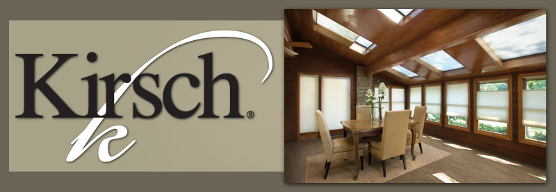 Kirsch Blinds and Shades
