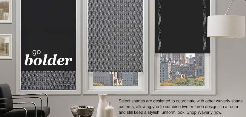 Go Bolder With Waverly Blinds