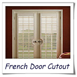 French Door Cutout