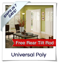 Universal Poly Shutters