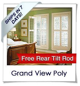 Grand View Poly Shutters