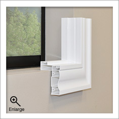 Deluxe Trim Frame for Universal Shutters