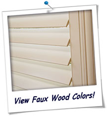 Faux Wood Shutters FREE Samples