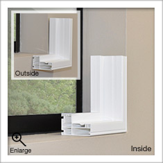 L Frame for Universal Shutters