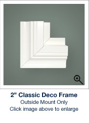 2 Inch Classic Deco Frame