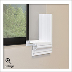 Trim Frame for Universal Shutters