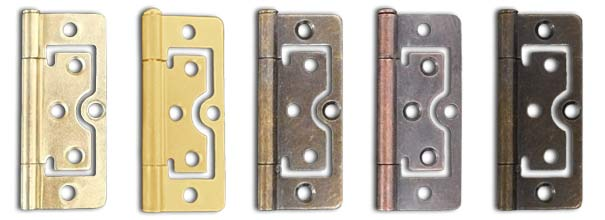 Solid Wood - Neutrals & Stained Solid Wood Hinge Color Options