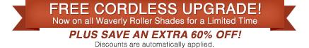 Waverly Blinds Free Cordless!